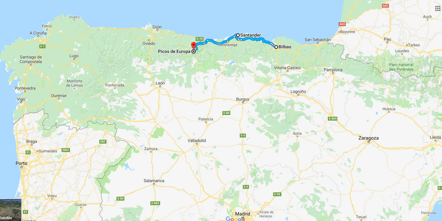 Map Of Northern Spain.Northern Spain S Best Restaurants Tour Eat Northern Spain