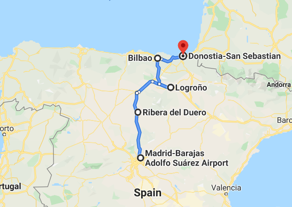 10 day tour Northern Spain