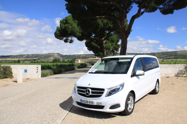 private car with chauffeur northen spain tours